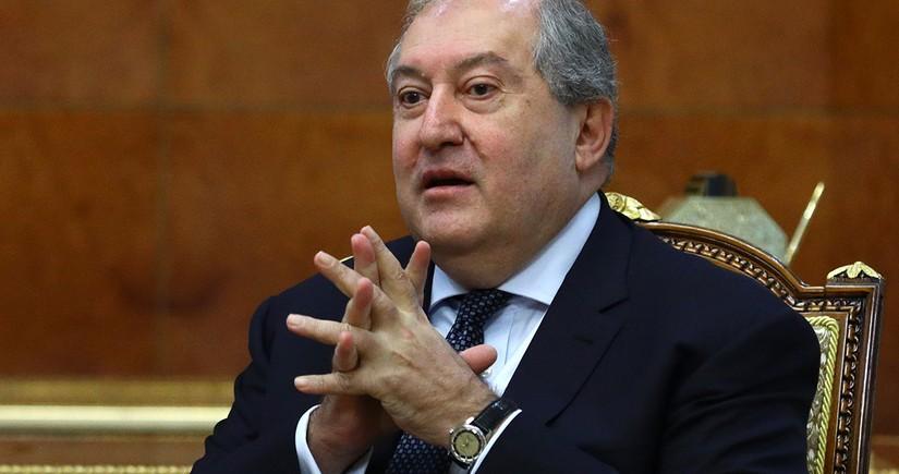 Sarkisyan Konstitusiya Məhkəməsinə müraciət edib