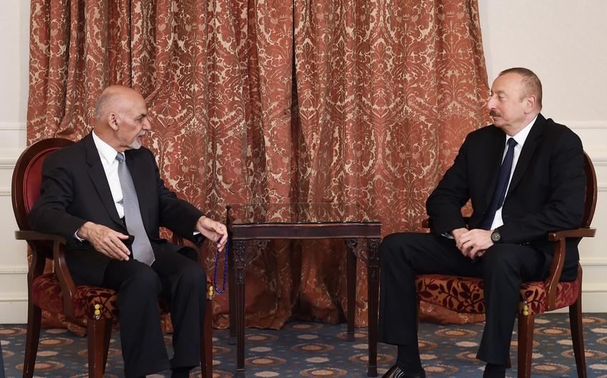 Brüsseldə Azərbaycan Prezidenti ilə Əfqanıstan Prezidenti arasında görüş keçirilib - YENİLƏNİB