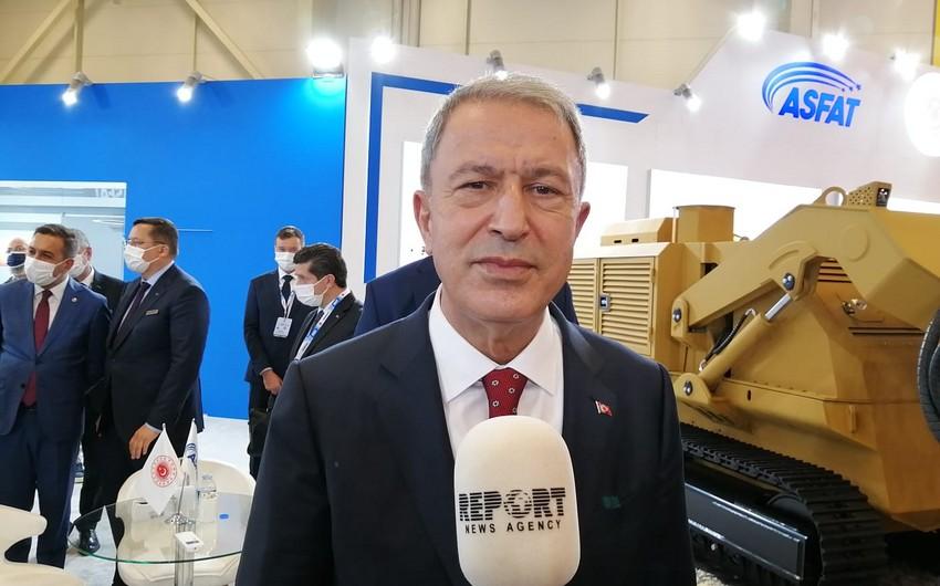 Турецкий министр прокомментировал случаи нарушения режима прекращения огня Арменией