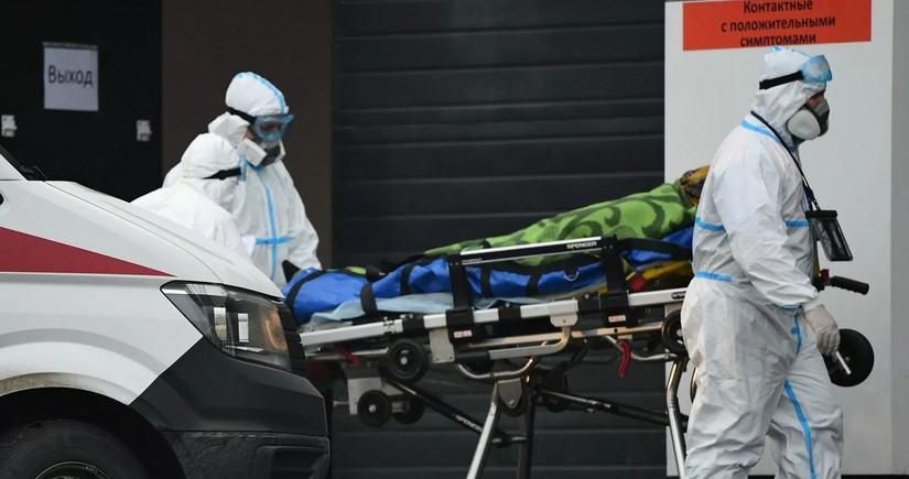 В России выявили более 22 тысяч случаев заражения коронавирусом за сутки