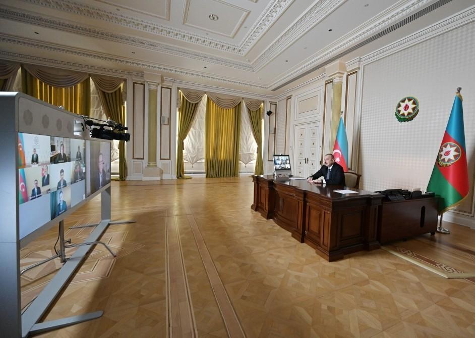 Президент Ильхам Алиев рассказал о поздравительном письме Дональда Трампа