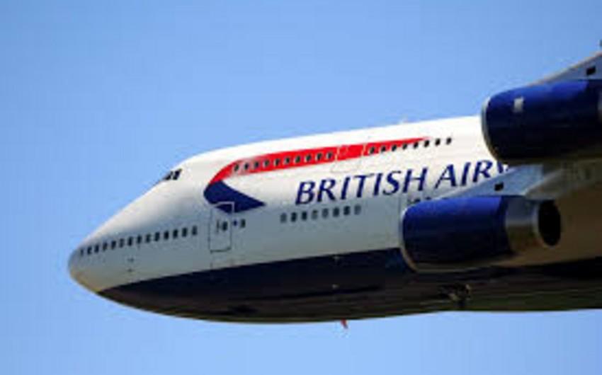 British Airways təyyarəsində həyacan yaşandı