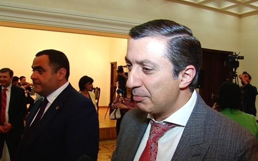 Ermənistanda deputat köməkçisi həbs edilib