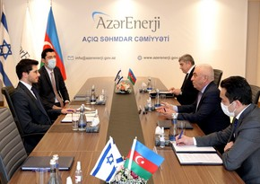 Azerbaijan and Israel mull cooperation in energy systems