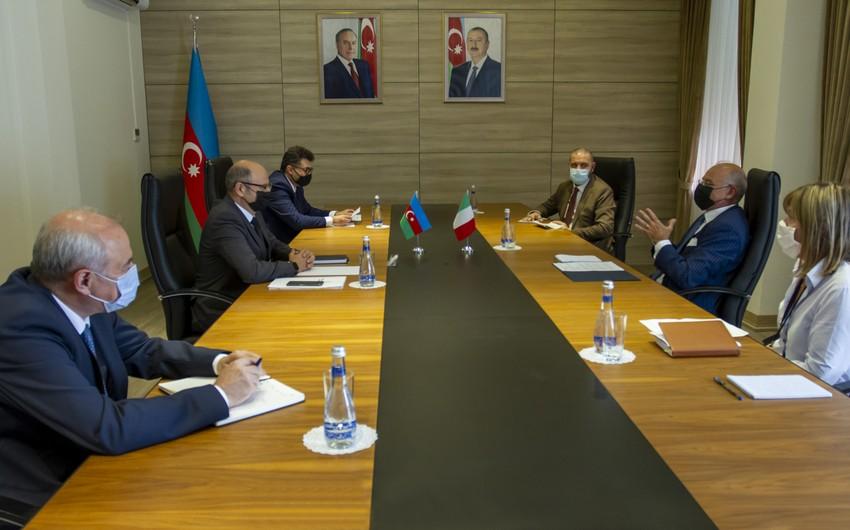 Azərbaycan və İtaliya energetika sahəsində əlaqələri daha da genişləndirəcək