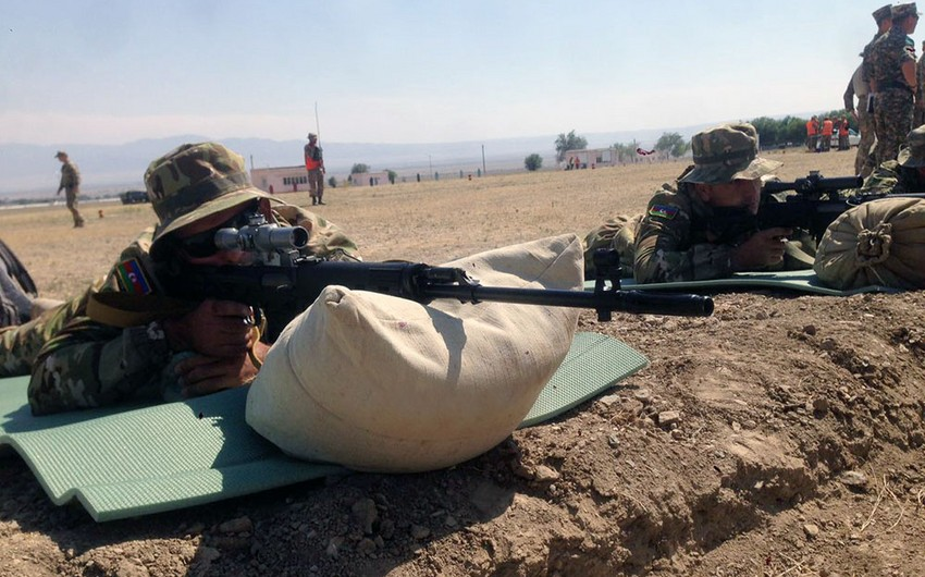 Azerbaijani snipers will demonstrate their skills in contest Sniper frontier
