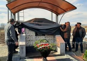 В Грузии открыт родник в память о шехиде Карабахской войны