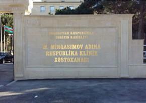 Respublikanskinin baş həkimi işdən çıxarıldı