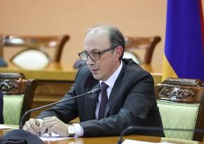 Ermənistanın XİN başçısı Moskvaya gedir