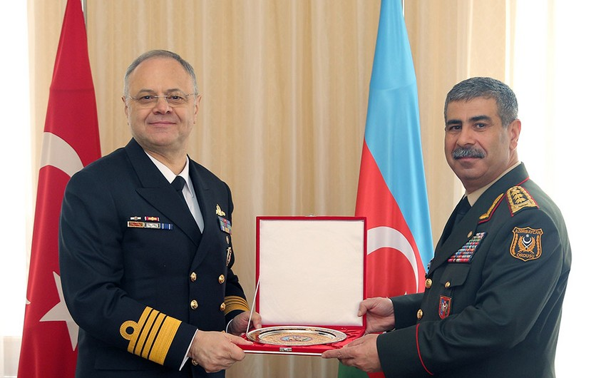 Azerbaijan and Turkey discuss issues of cooperation between naval forces