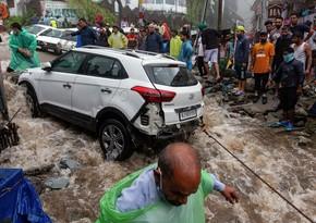 Hindistanda 46 nəfər daşqın və sürüşmələrin qurbanı olub