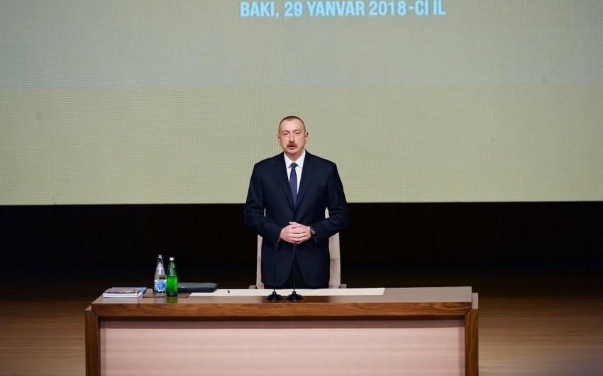 Prezident İlham Əliyev: Maaşlar 14 il ərzində beş, pensiyalar səkkiz dəfədən çox artıb