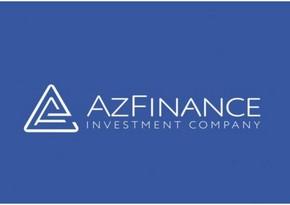 """""""AzFinance İnvestisiya Şirkəti""""nin istiqrazları listinqə daxil edilib"""
