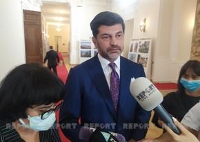 Каха Каладзе: Руководство придает большое значение содержанию Баку в чистоте и его озеленению