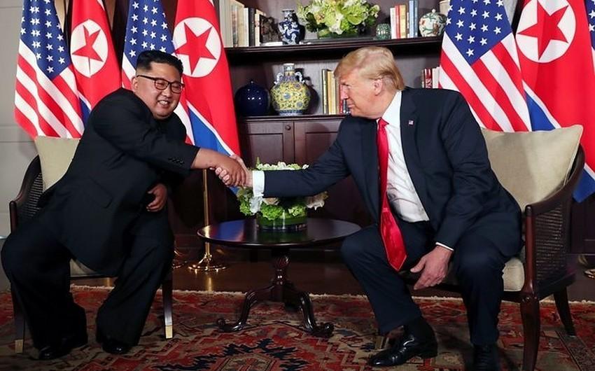 Donald Tramp Kim Çen Inla seçkilərdən sonra görüşmək niyyətindədir
