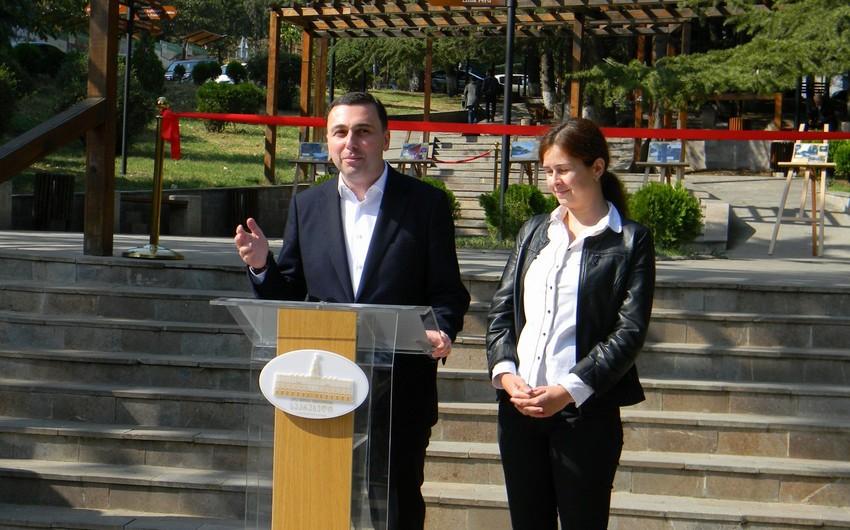 Tbilisidə qardaş şəhərlərə həsr olunmuş bağ açılıb