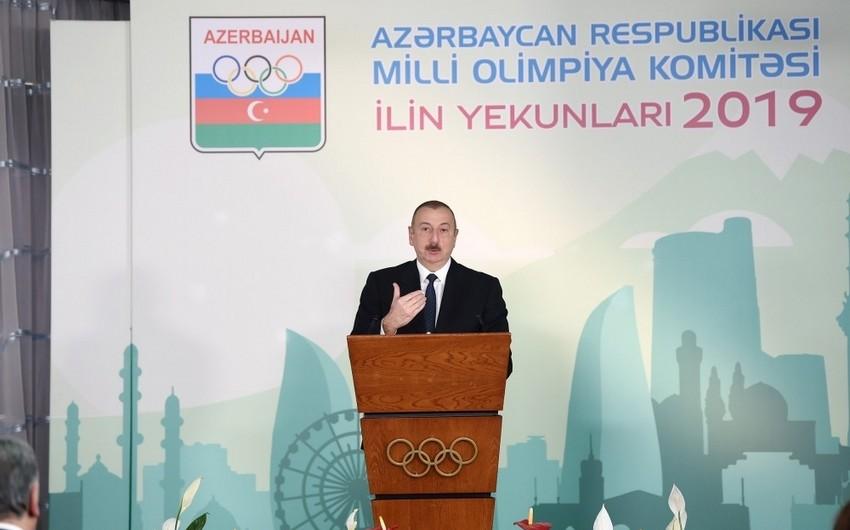 """Ильхам Алиев: """"Cоревнования Формула-1 приносят нашей стране большие экономические дивиденды"""""""