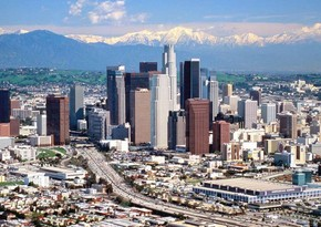 Los-Ancelesdə Olimpiya oyunlarının loqotipi təqdim edilib