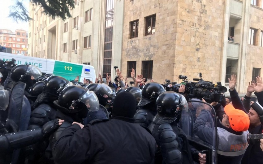 37 people detained as protests are dispersed in Tbilisi - UPDATED