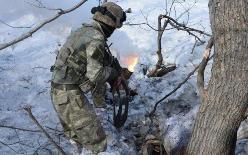 Türkiyə Silahlı Qüvvələrinin keçirdiyi antiterror əməliyyatları zamanı 2 hərbçi şəhid olub, 5 nəfər yaralanıb