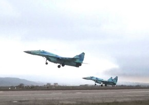 Redeployment of combat aircraft held in exercises - VIDEO
