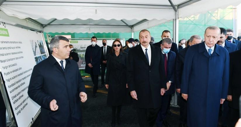 Ильхам Алиев и Реджеп Тайип Эрдоган ознакомились с проектом Умное село в Зангилане