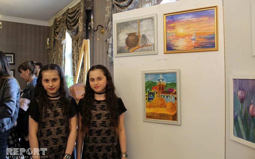 Azərbaycanlı və gürcü uşaqlar Tbilisidə Bahar rənglərini nümayiş etdiriblər