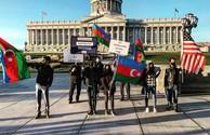 ABŞ-da Azərbaycan İcması Qarabağa dəstək aksiyası təşkil edib
