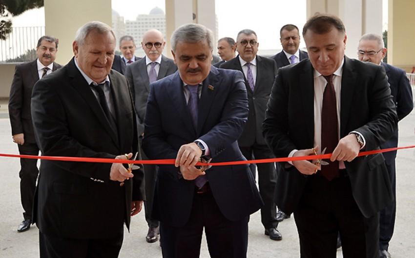 AFFA-nın prezidenti Bayıl Məşq Mərkəzinin açılışında iştirak edib