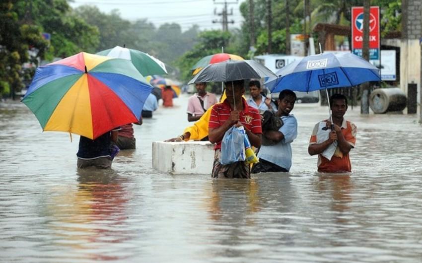 Şri-Lankada daşqınlar nəticəsində 39 nəfər həlak olub