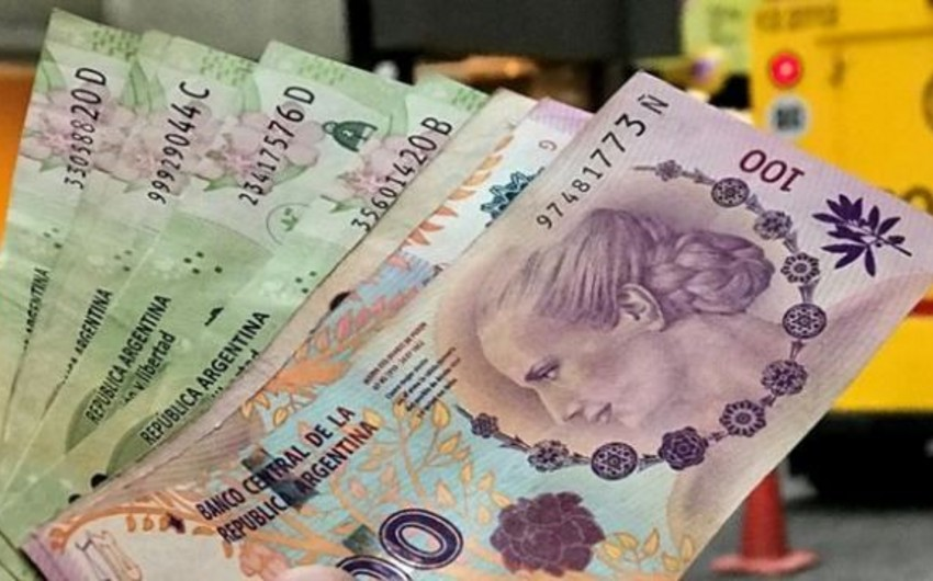 Argentina Mərkəzi Bankı uçot dərəcəsini 5 faiz bəndi azaldıb