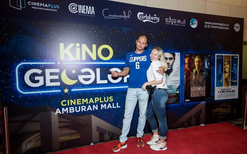 """CinemaPlusda """"Kino Gecəsi"""" keçirilib"""