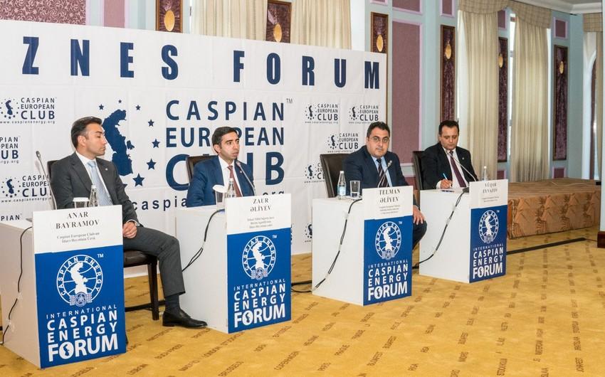 """""""Caspian European Club"""" İcbari Tibbi Sığorta üzrə Dövlət Agentliyi ilə biznes-forum keçirib"""