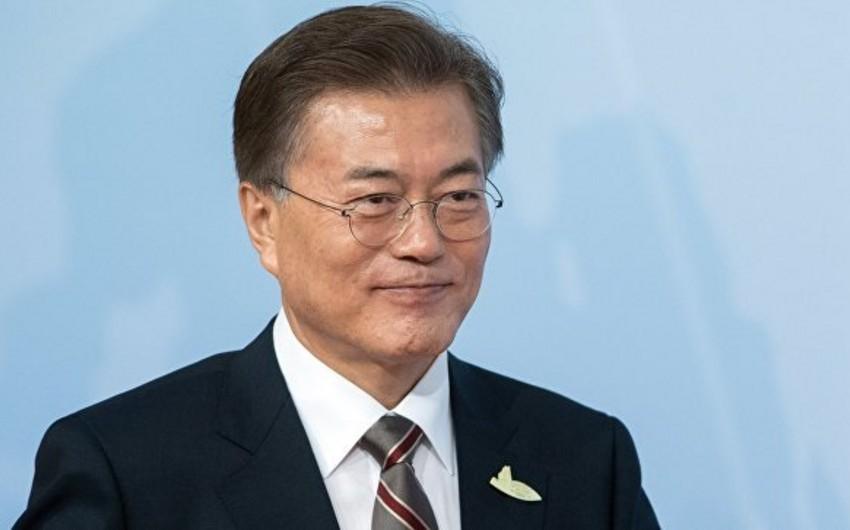 Президент Кореи направил главе Азербайджана поздравительное письмо