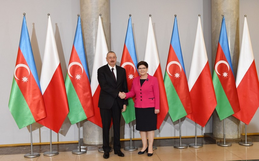 Azerbaijani President Ilham Aliyev completes his visit to Poland - UPDATED