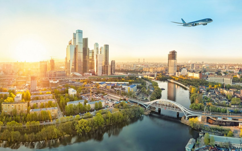 AZAL Bakı-Moskva-Bakı marşrutu üzrə xüsusi reyslərə başlayır