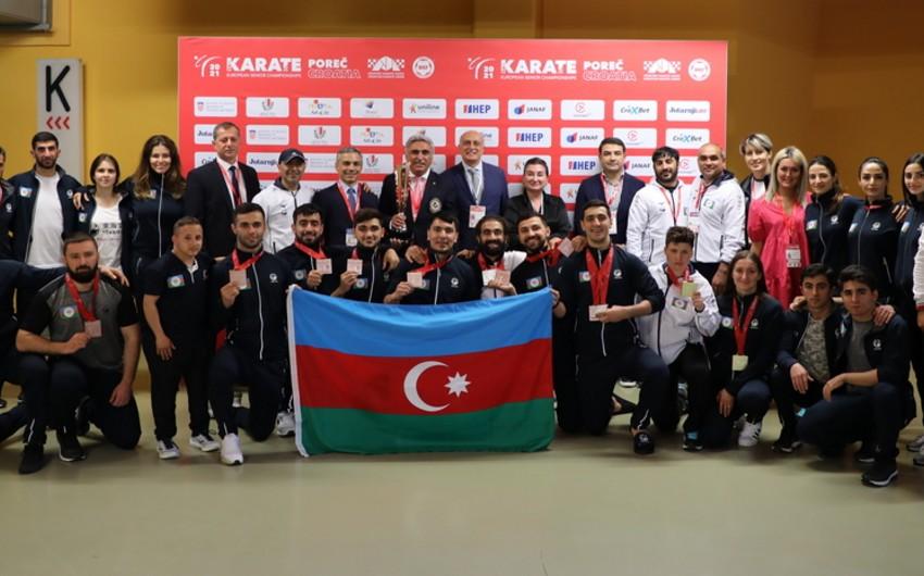 Avropa çempionatı: Karateçilərimiz 4, para-karateçilərimiz 3 medal qazandı