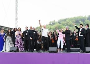 """Şuşada """"Xarıbülbül"""" musiqi festivalı başa çatıb - YENİLƏNİB - 2"""