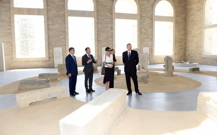 На территории Площади Государственного флага открылся Музей каменной летописи - ФОТО