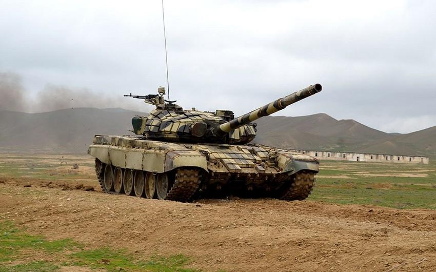 Azərbaycan Ordusunun ən yaxşı tank bölüyü müəyyənləşib - VİDEO