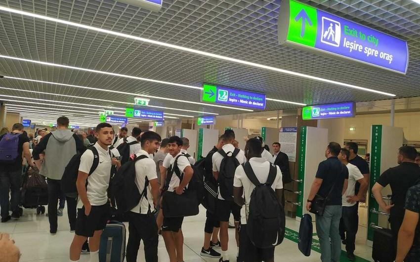 Лига Европы УЕФА: Нефтчи прибыл в Кишинёв для встречи со Сперанца - ФОТО