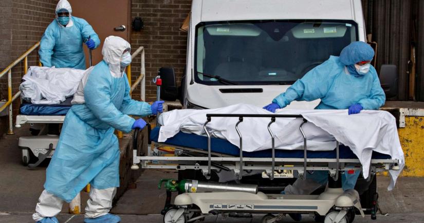 В Британии зафиксировали максимальную суточную смертность от COVID-19 с 9 марта