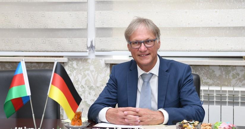 German envoy to Azerbaijan honors memory of Holocaust victims