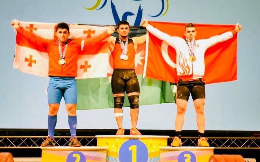 Azərbaycanın ağır atleti Avropa birinciliyinin qalibi olub