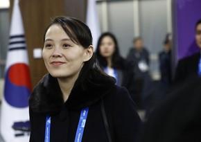 Koreya liderinin bacısı: ABŞ-la danışıqların bərpası yalandır