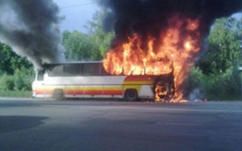Braziliyada cinayətkarlar 17 avtobusu və 5 məktəbi yandırıblar