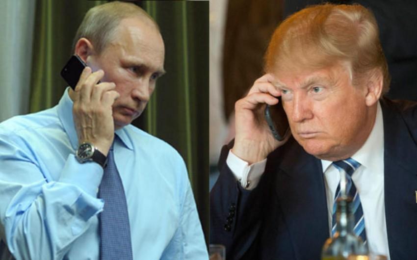 Trampla Putin koronavirusla bağlı müzakirə aparıblar