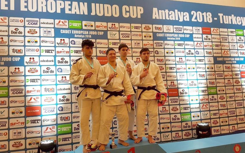 Azərbaycan cüdoçuları Avropa kubokunda daha 3 medal qazanıblar