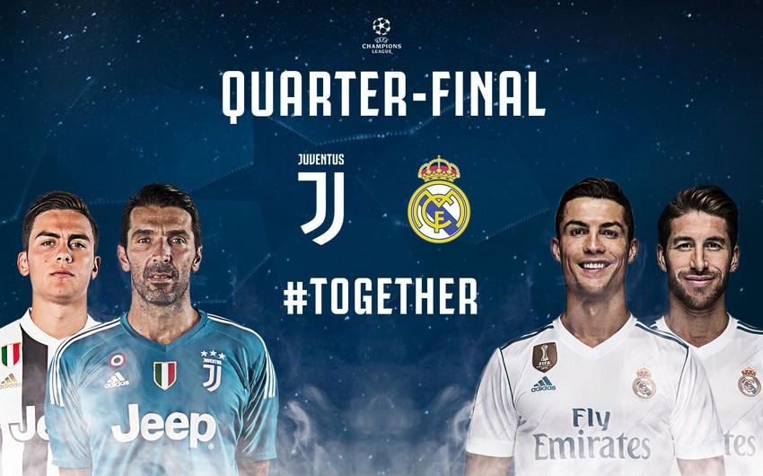 Real Madrid - Yuventus matçının bütün biletləri 8 dəqiqəyə satılıb