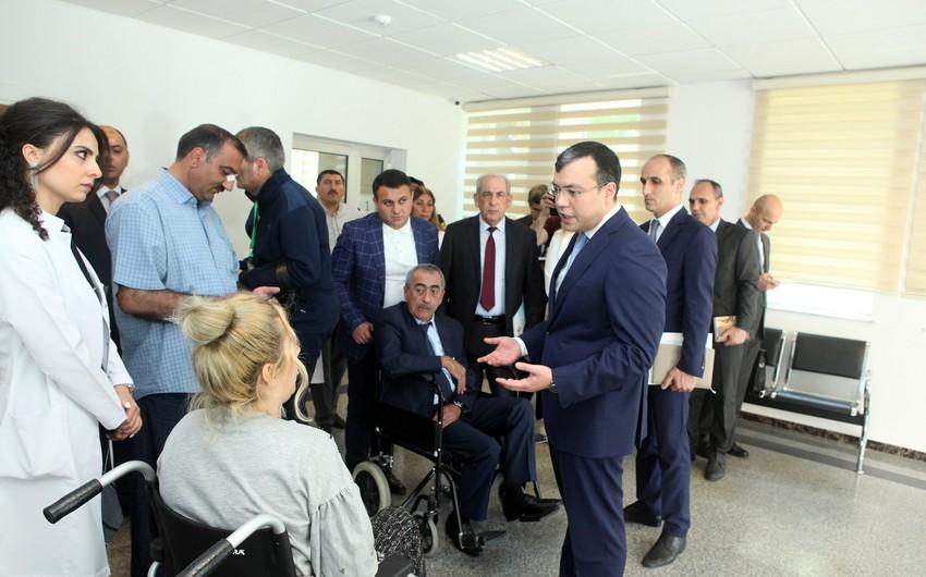 Sahil Babayev əlillər üçün müasir standartlara uyğun reabilitasiya şəraitinin yaradılmasını tapşırıb